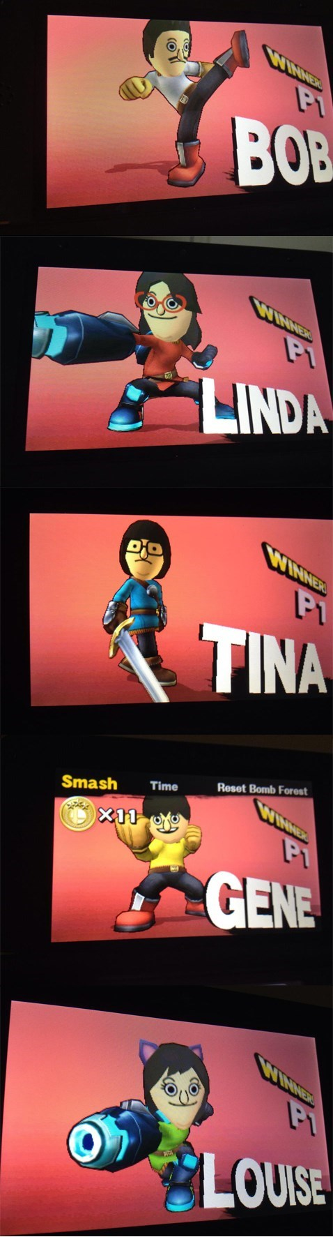 super smash bros bobs burgers - 8339873792