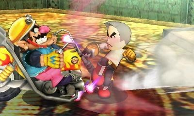 wario miis super smash bros professor oak