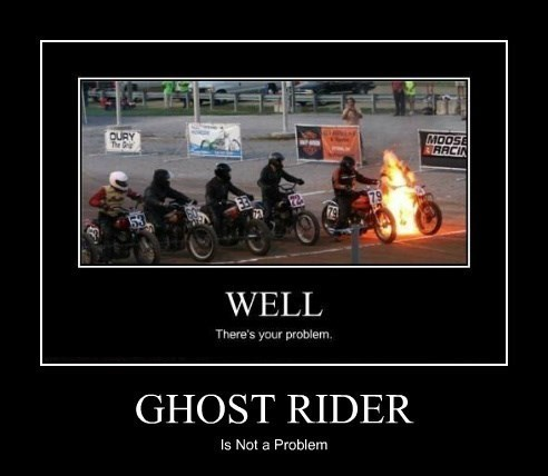 funny ghost rider problem wtf - 8339980032