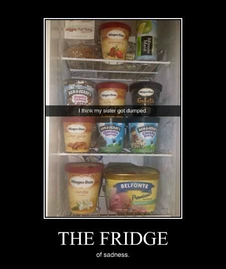 dumped depressing funny ice cream - 8340042496