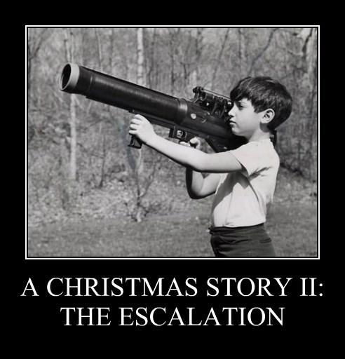 A CHRISTMAS STORY II: THE ESCALATION