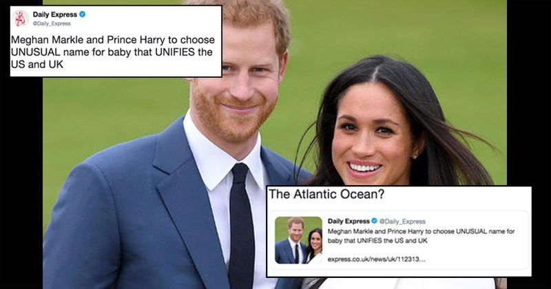 royal family Archie queen elizabeth archie harrison mountbatten windsor twitter meghan markle england royal baby Prince Harry parody UK funny tweets buckingham palace - 8340229