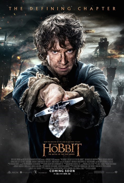 Bilbo Baggins movie poster movies The Hobbit - 8340566016