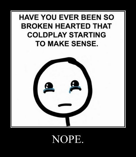 coldplay funny nope tron - 8340622592