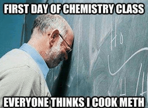 Chemistry funny science meth g rated School of FAIL - 8340650752