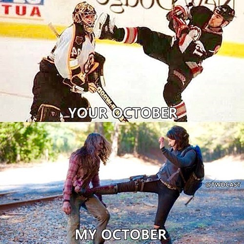 walkers fandom october Maggie Greene - 8340678912