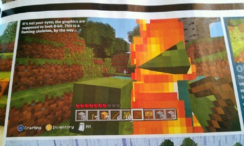 minecraft magazines wtf oxm - 8340780288