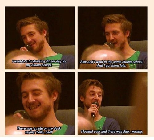 alex kingston,arthur darvill