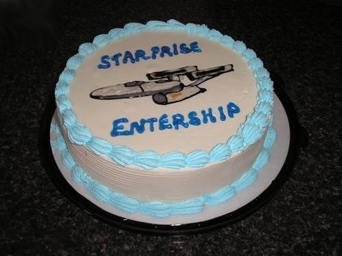 cake FAIL Star Trek - 8340827392
