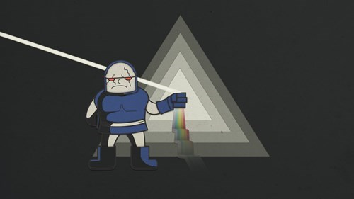 Fan Art pink floyd darkseid - 8340852992