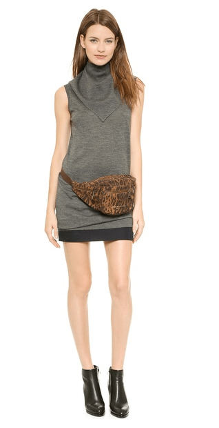 fanny pack poorly dressed leopard print - 8340896768