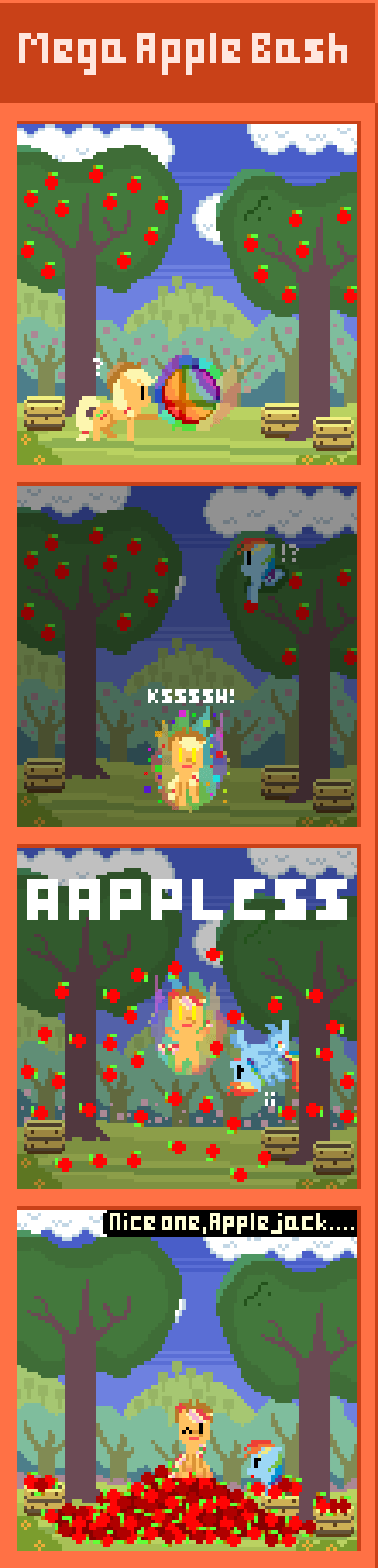 applejack Super Mario bros - 8340915200