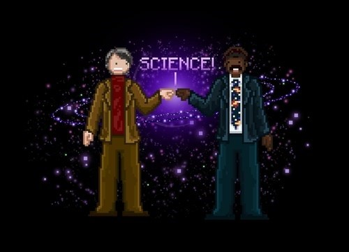 8bit carl sagan funny science Neil deGrasse Tyson - 8340921344