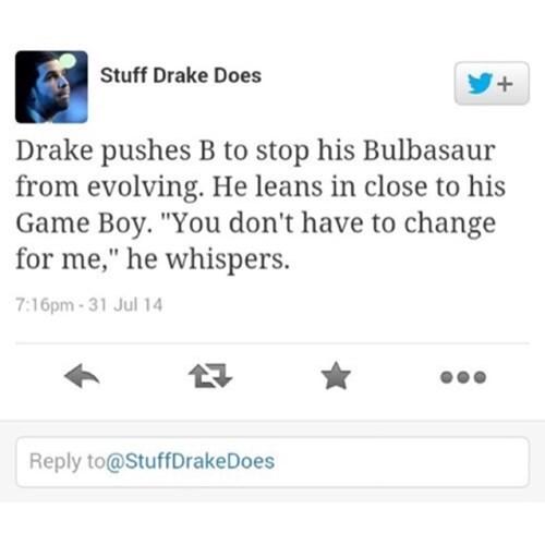 Pokémon twitter Drake - 8340921600