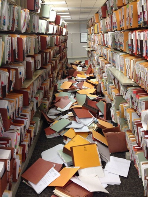 files,monday thru friday,shelves,mess,g rated