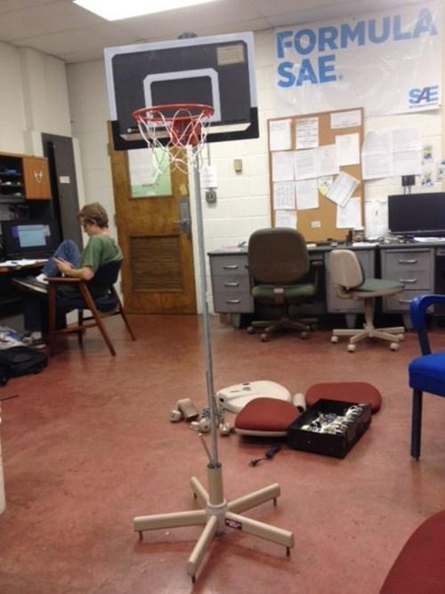 basketball hoop monday thru friday - 8341178112