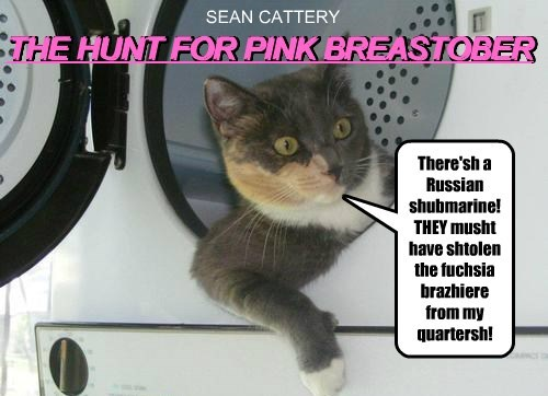 Cats bra Breast Cancer james bond sean connery - 8341258752