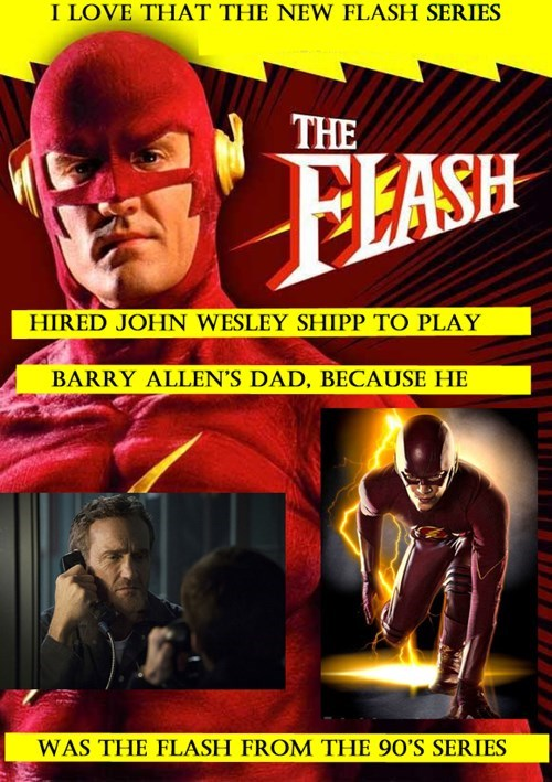 Best easter egg in the new Flash series!
