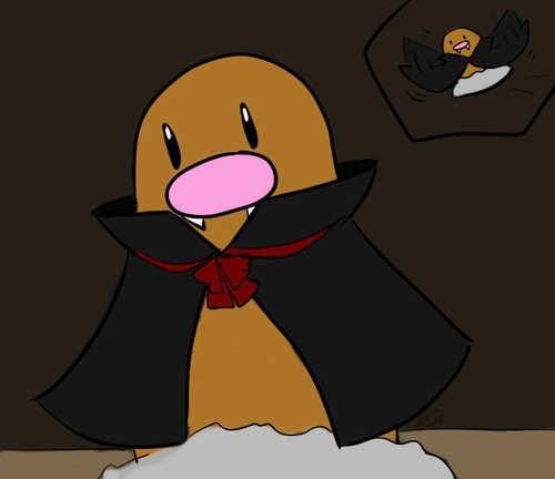 Pokémon diglett wednesday diglett vampires - 8341504512