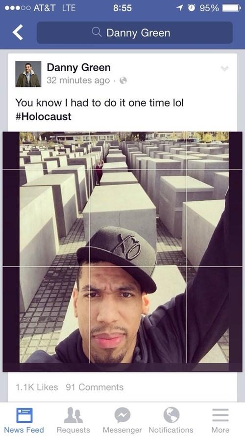 holocaust selfie danny green - 8341583872