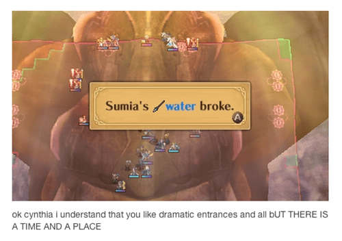 fire emblem,sumia,wordplay