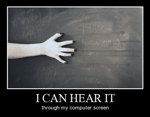 chalkboard horrible funny sound - 8341671680