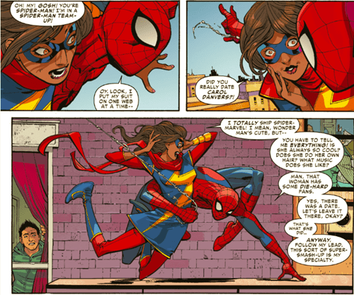 kamala khan ms marvel Straight off the Page Spider-Man - 8341712896