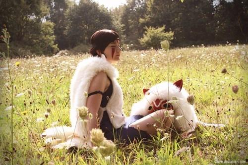 cosplay anime princess mononoke - 8341787904