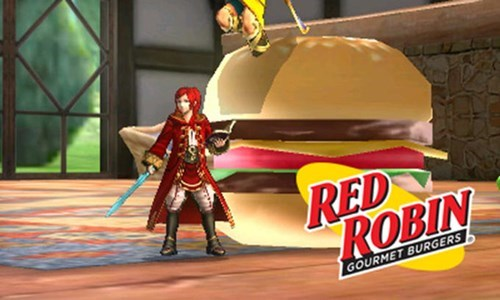 food,restaurants,puns,robin,super smash bros,red robin