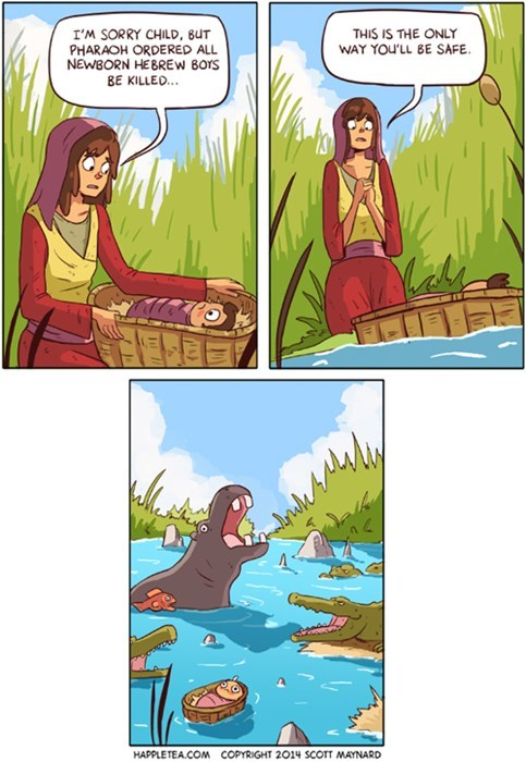 funny,safety,moses,river,infant