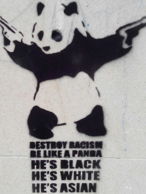 racism,panda,wisdom,hacked irl,g rated,win