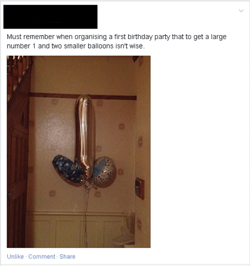 dude parts accidental sexy Balloons failbook