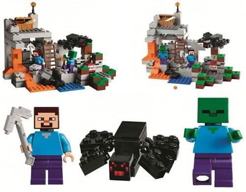 lego minecraft Video Game Coverage - 8342452736