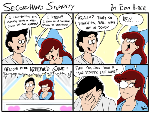 disney mermaids newlyweds web comics - 8342501376