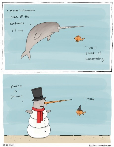 fish gifs halloween costumes halloween narwhal - 8342522368