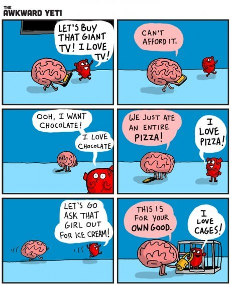brains,heart,web comics