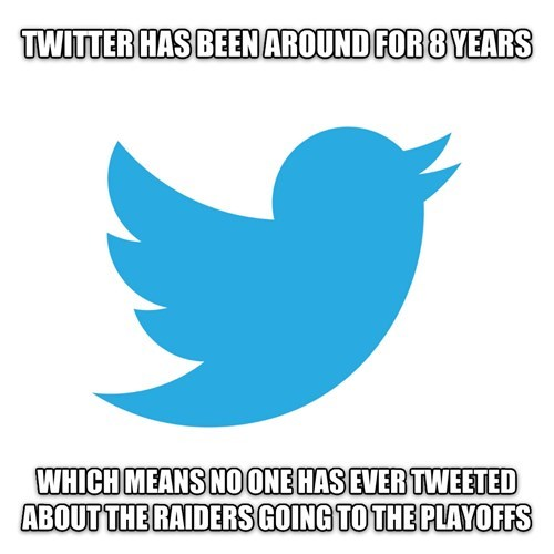 football nfl Oakland Raiders twitter - 8342534144