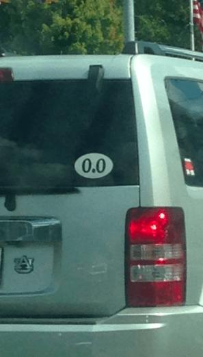 bumper stickers marathons - 8342714880