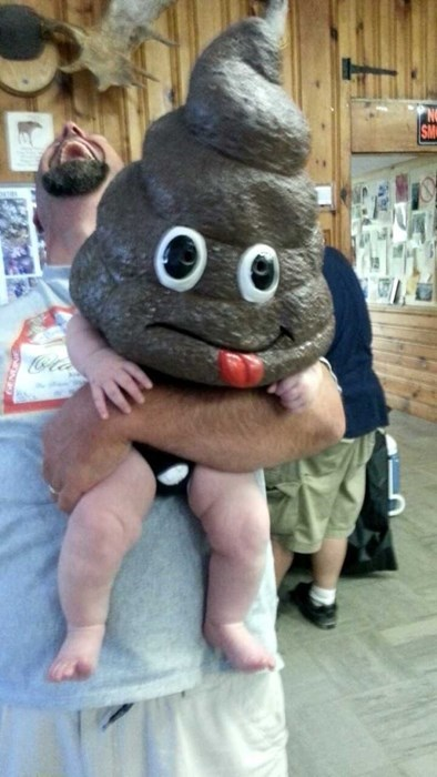 baby costume dad halloween poop parenting poorly dressed - 8342734848
