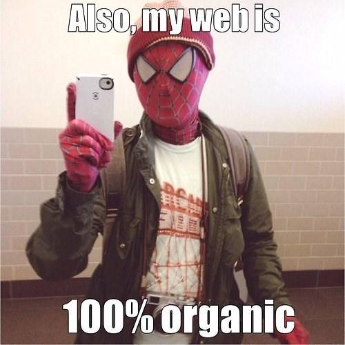 hipster,Spider-Man