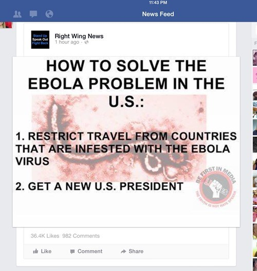 facepalm ebola politics - 8342830336