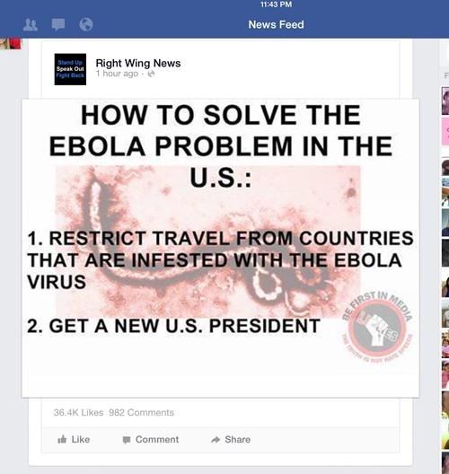 facepalm ebola politics - 8342830336