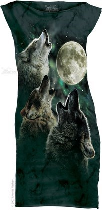 dress poorly dressed three wolf moon - 8342833664