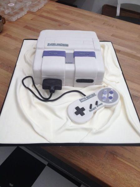 cake food design nerdgasm Super Nintendo snes - 8342838272