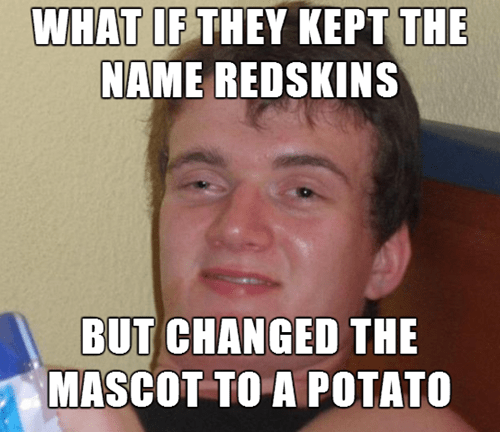 10 guy football Memes nfl washington redskins - 8343041536
