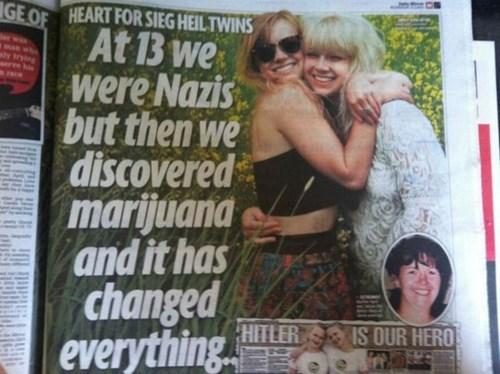 funny,nazi,weed,wtf