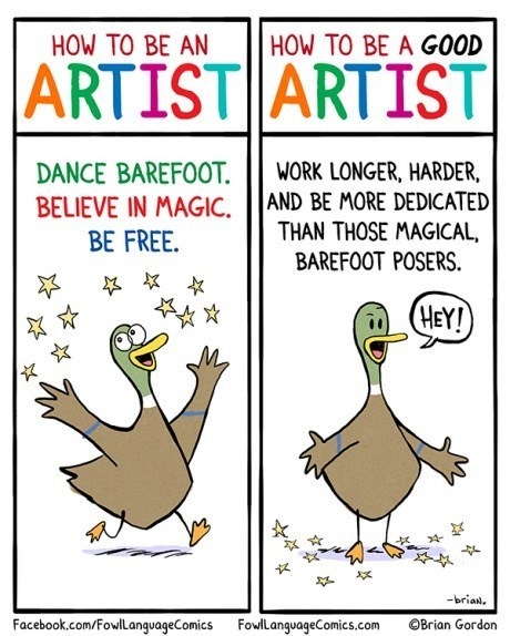 art art is hard ducks How To web comics - 8343504384