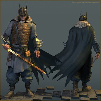 batman dragonborn viking - 8343519744