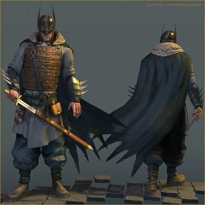 batman dragonborn viking - 8343519744