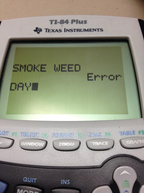 calculator drugs funny weed - 8343586560
